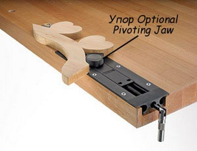 М00004894  -  Упор Optional Pivoting Jaw для тисков Veritas Inset Vise