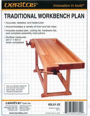 М00004899  -  План верстака Traditional workbench