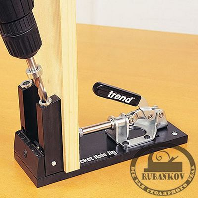 М00006721  -  Кондуктор Trend Pocket Hole Jig, для угловых конструкций