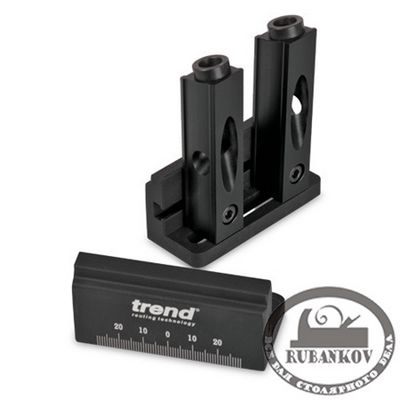 М00008221  -  Кондуктор Trend Mini Pocket Hole Jig, для угловых конструкций