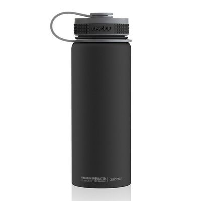 TMF2 black  -  Термос Asobu Alpine flask (0,530 литра) черный*