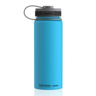 TMF2 blue  -  Термос Asobu Alpine flask (0,530 литра) синий*