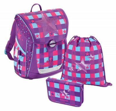 00138626  -  Ранец Step by step BaggyMax Fabby Pink Star 3 предмета